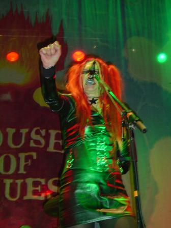 Photo of Vas of Hanzel Und Gretyl at House of Blues Florida that John Schlick was Concert Lighting Designer for.