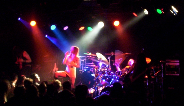 Photo where John Schlick was the Lighting Designer at this Charlie Drown show at the Fenix in Seattle.
